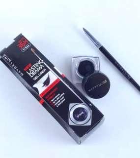 Eyeliner Maybelline Eyestudio Lasting Drama Gel Eyeliner Eyeliner Hitam
