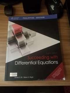 Succeeding with Differential Equations 8th Ed. by Dennis Zill and Warren Wright