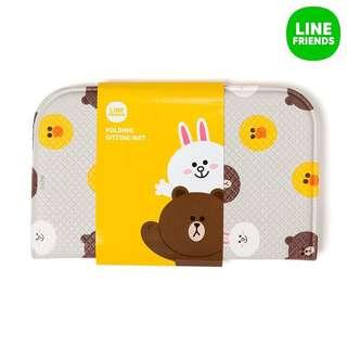 BN Line Friends Folding Sitting Mat