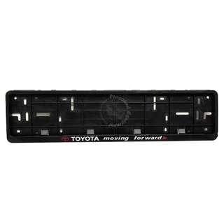 TOYOTA FRONT NUMBER PLATE CASING (BLACK)