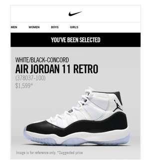 Nike Air Jordan 11 retro US10