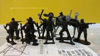 Classic Soldiers Figurines Toys