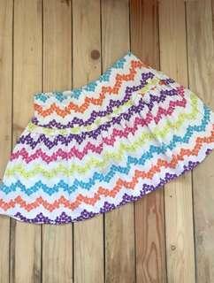 Brand new gymboree floral skirt