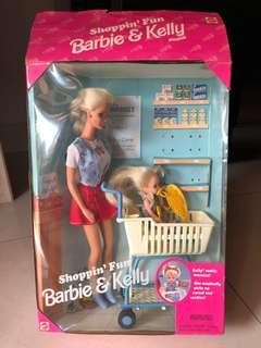 Barbie Doll - Shopping Fun with Barbie and Kelly