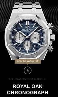 Audemars Piguet Royal Oak Chronograph Blue