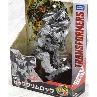 聖誕 清貨 特價全新 原裝正版 日本版 TOMICA TAKARA TOMY Transformers Turbo Change TC-04 Big Grimlock Robot Toy 益智 變形金剛 電影最終騎士 暴龍機器人  鋼鎖 ,恐龍金剛的首領  模型公仔組 裝套  遊戲玩具 模型人偶 裝套 figure(容易變形款式)  (不是TOMICA, Bandai ,sanrio, disney ,Pinocchio,lego,麵包超人,Disney hasbro )