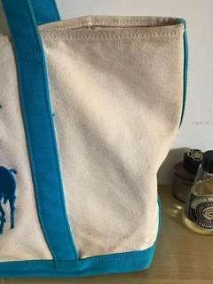 🚚 Ralph Lauren 帆布購物袋