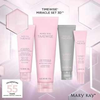 Cleanser & Day Cream Mary Kay Time Wise 3D READY STOCK!!