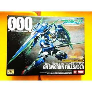 請看推廣優惠 原裝正版 罕有彩色透明限定日版 全新未砌 Hobby Japan 附錄 改件 (不包括高達) HG 1/144 00Q GN SWORD IV FULL SABER 00 Gundam 高達模型 5