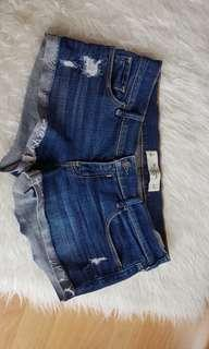 Abercrombie n fitch jeans shorts