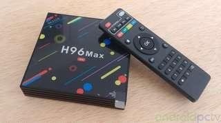 H96 MAX 4GB RAM 32GB ROM H96 MAX Android TV Box, Cheapest TV box, Version 7.1.2, Smart TV, TV Box, Bluetooth, Duel wifi and 5G wifi. Version 8.1 Astro, IPTV