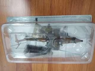 Mil Mi-28A Russia Attack Helicopter 2003 Diecast Scale 1:72 Rare