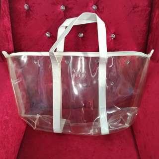 GIORGIO ARMANI Acqua di Gioia Transparent Large Tote Bag