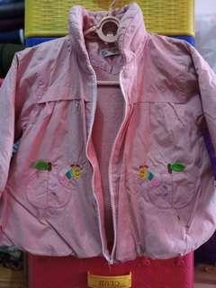 Jaket cewe pink
