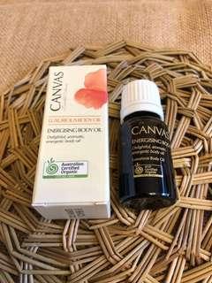 Canvas Energising Body Oil 10ml