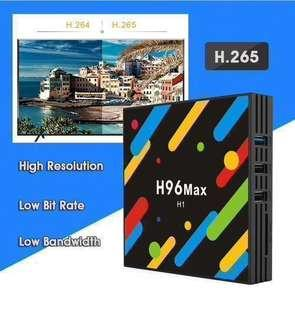 H96 MAX 4GB RAM 32GB ROM H96 MAX Android TV Box, Cheapest TV box, Version 7.1.2, Smart TV, TV Box, Bluetooth, Duel wifi and 5G wifi. Version 8.1. FREE APPS. Astro, IPTV
