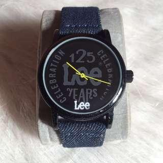 Lee Denim Strap Watch