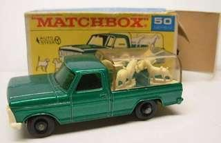 Matchbox 50 Kennel Truck 1968