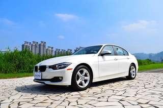 2014 BMW 328盲點 偏移 環景 超滿配