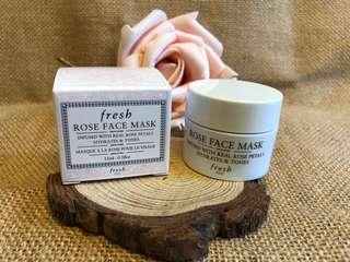 Fresh Rose 🌹 Mask 15ml Travel size