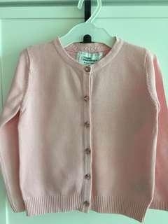 Young Dimension pink cardigan size 4-5 yrs old