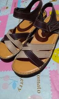 Dr. rush leather sandals