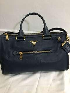 Original Prada Vitello Phenix Leather Handbag