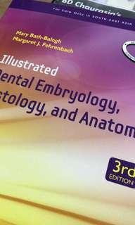 Textbook of dental anatomy, physiology and embryology