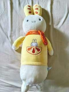Yellow Rabbit Stuffed Animal Toy