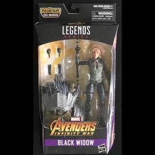 Avengers Marvel Legends Infinity Wars Black Widow