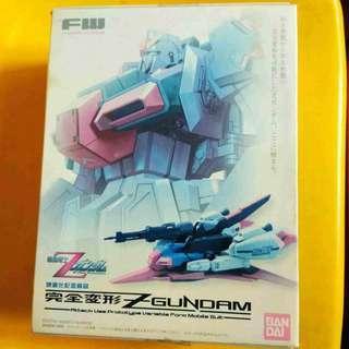 請看推廣優惠 完全變形 全新未開盒 連地台 BANDAI FW 盒有黃 Z Zeta Gundam MSZ-006 Fusion Work 高達模型