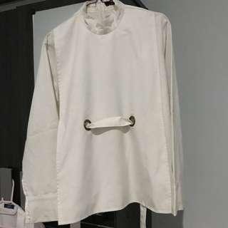 Avgal white shirt
