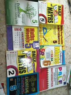 P2 to 6, psle maths assessment book