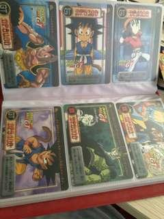 Dragon ball gt cards (no prism)