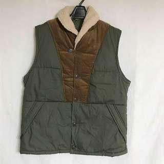 日本時裝品牌 GU 🇯🇵 冬季款復古背心外套 馬甲