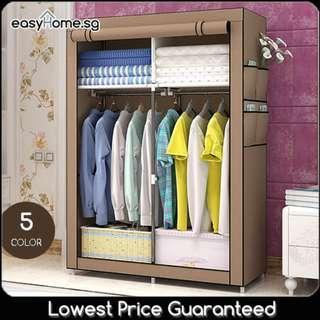 🚚 Wardrobe GY04 - Closet Hanger Clothes Rack Storage Shelves