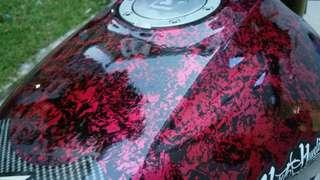 Samurai spray paint!!!