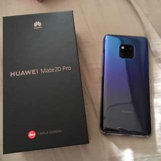 Huawei mate 20 pro with amazing protection accessories