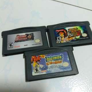 100% Authentic Gameboy Advance Games