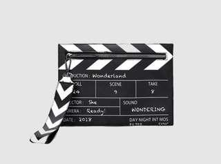 Clapperboard Clutch/bodybag