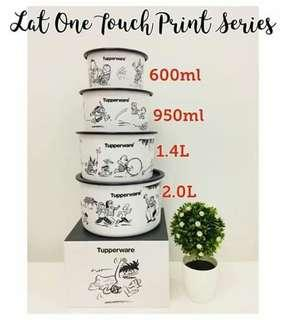 One touch tupperware brand lelong