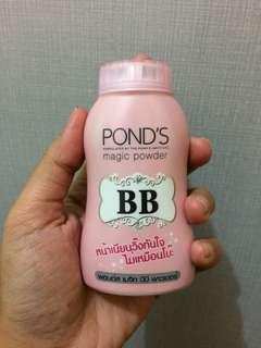 Bb pond's powder