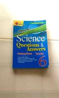 Primary 6 Science Questions & Answers
