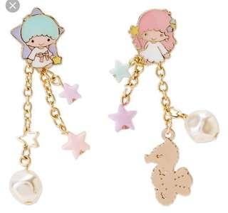 Little twin stars earrings