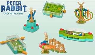 McDonald's Toy Peter Rabbit Incomplete Set