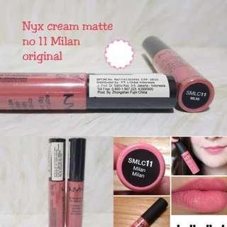 NYX Lipcream Milan Original