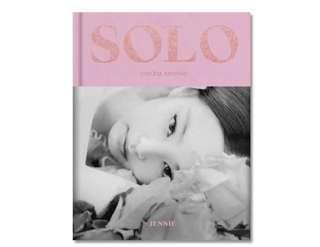 BLACKPINK : JENNIE [SOLO] PHOTOBOOK (special ed)ition