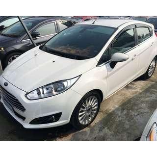 2015 Ford Fiesta 1.1 白