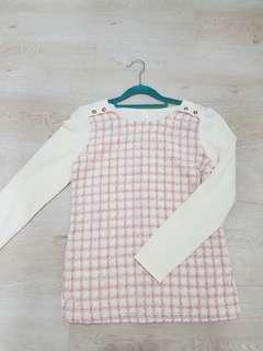 BN Puffed long sleeve korean blouse