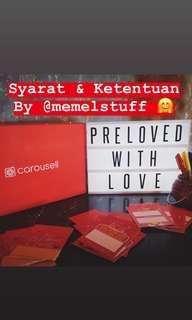 #PrelovedWithLove S&K
